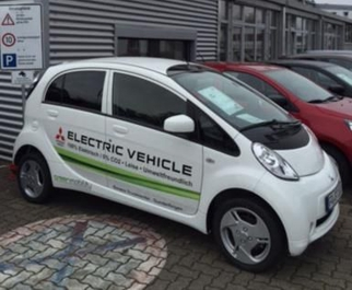 Mitsubishi Electric Vehicle bei Bauers Truckcenter